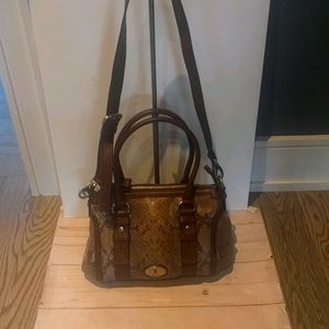 Beautiful genuine leather bag by Fossil 🌸🍀🍀